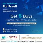 Get Your 5 days visitor pass for free   Maria Medical Technology   Gitex2021 Promo 01 150x150 maria medical technology®   mmt sharjah Maria Medical Technology®   MMT Sharjah Promo 01 150x150